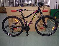 Спортивний алюмінієвий велосипед 29 дюймів Crosser Angel чорний
