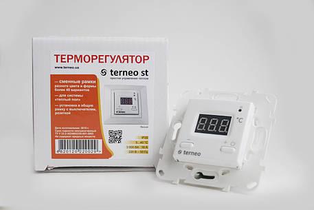 Терморегулятор Terneo st unic (с монтажной коробкой), фото 2