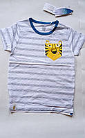Дитяча футболка 116 зростання тигр Cool Club, фото 1