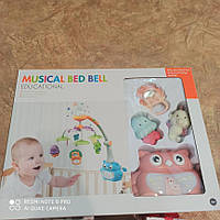 Дитячий музичний мобіль Musical bed bell N 5073 A