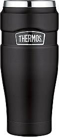 Термос / Термокружка Thermos 470 мл черная матовая США. Оригинал (Matte Black)