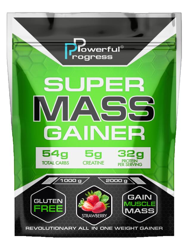 Гейнер Super Mass Gainer Powerful Progress 1 кг