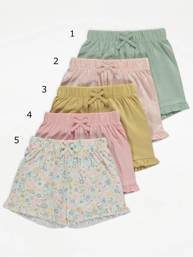 Симпатичні літні шорти для дівчинки Джордж (поштучно)