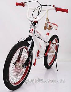 Велосипед для прыжков BMX VSP-20 Белый! Алюминий-Рама! НОВЫЙ! Велосипед для разных трюков!