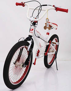 Велосипед для стрибків BMX VSP-20 Білий! Алюміній-Рама! НОВИЙ! Велосипед для різних трюків!