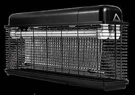 Уничтожитель насекомых лампа до 180 кв м Noveen IKN-45 влагозащищенный IPX4 Черный (nas_982435)