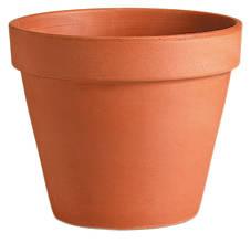 Горщик для рослини Deroma Гладкий 34 х 39 см Коричневий (000004649)