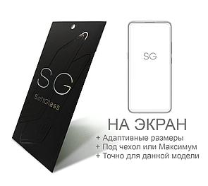 Полиуретановая пленка Oppo reno 4 lite SoftGlass Комплект: Передняя и Задняя
