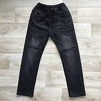 Черные джинсы на резинке 6-11 лет. Венгрия - Grace