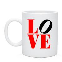 Сувенирные кружки и чашки, нанесение надписи на чашки Love-любовь