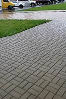 Кирпич стандартный 200х100, цвет серый 60мм