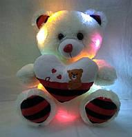 М'яка іграшка світиться ведмедик