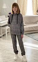 """Спортивний костюм підлітковий в клітину на дівчинку 134-158 см """"LiMA Sport"""" недорого від прямого постачальника"""
