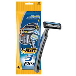 """Станок для бритья мужской """"BIC 3 Flex"""" - 4 шт"""