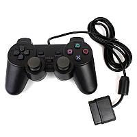 Проводной геймпад PlayStation 2 Черный