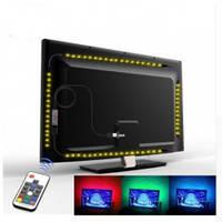 Cветодиодная лента 5050 rgb 2 м для фоновой подсветки телевизора