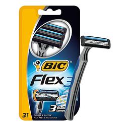 """Станок для бритья мужской """"BIC 3 Flex"""" - 3 шт"""