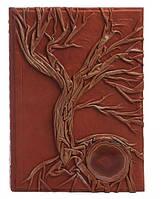 Родословная книга с камнем Агат