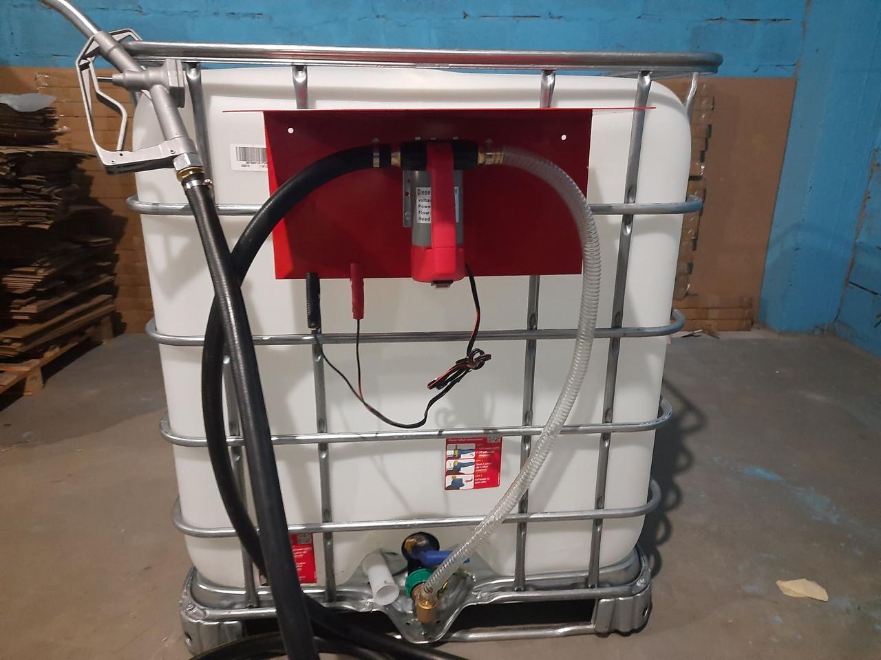Комплект для перекачування палива на базі еврокуба (RE SL012-1-24V)