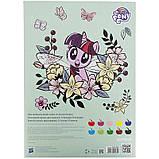 Картон кольоровий двосторонній (10арк/10кол), А4 Little Pony lp21-255, фото 4
