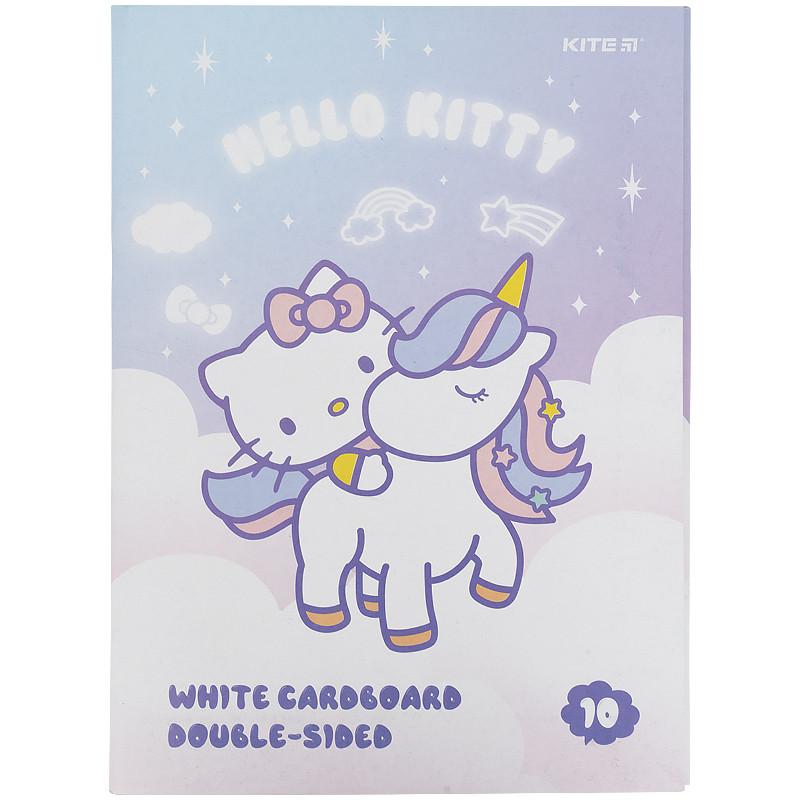 Картон белый (10л) A4 Hello Kitty hk21-254