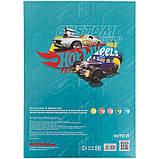 Папір кольоровий неоновий (10арк/5кол), A4 Hot Wheels hw21-252, фото 4