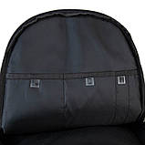 Рюкзак підлітковий GoPack Сity 140-2 чорний, гірчичний go21-140l-2, фото 2