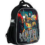 Рюкзак для першокласника Kite Education каркасний 555 Transformers tf21-555s, фото 2