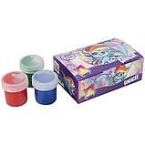 Гуаш, 6 кольорів, 20мл Little Pony lp21-062, фото 2