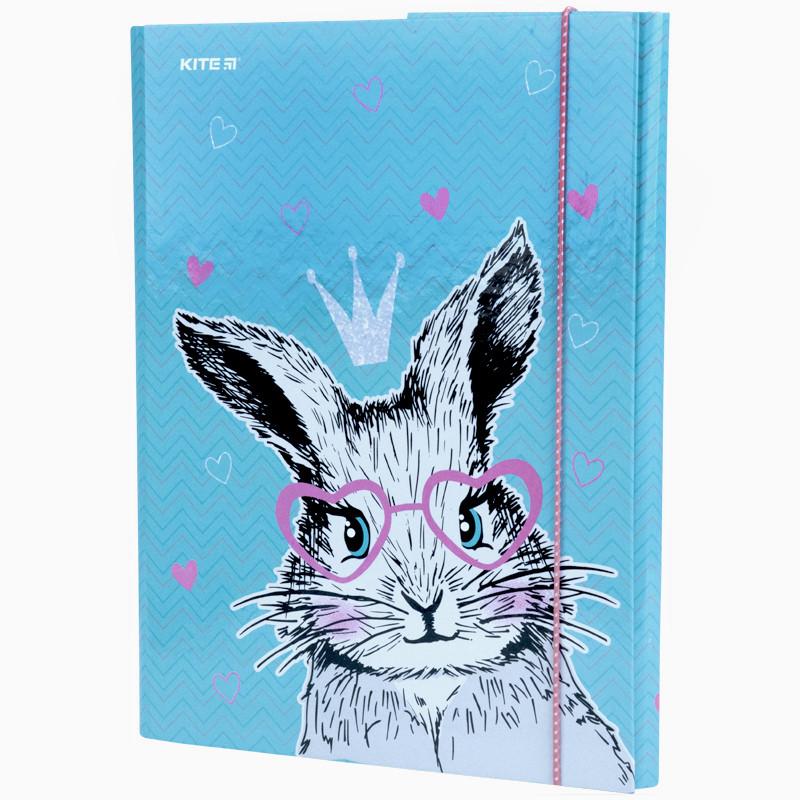 Папка для праці, А4, Kite, Cute Bunny k21-213-1