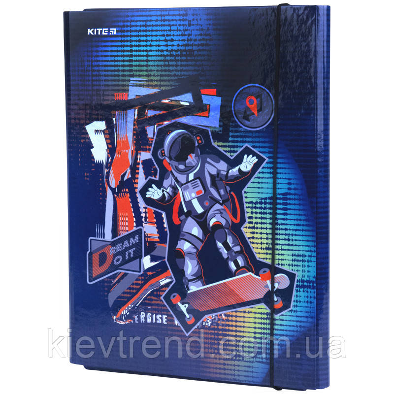 Папка для труда А4, Kite, Studio Petsace Skating k21-213-2