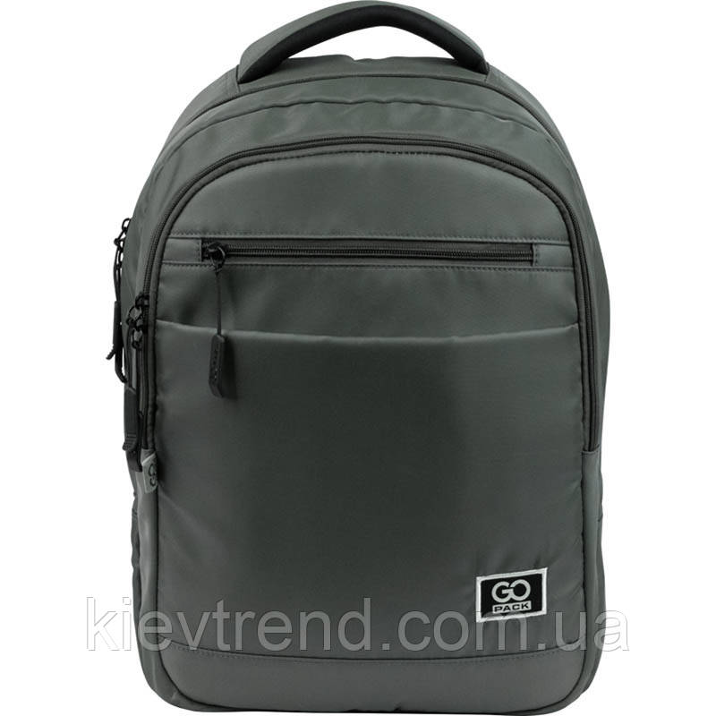Рюкзак подростковый GoPack Сity 143-2 хаки go21-143l-2