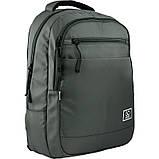 Рюкзак подростковый GoPack Сity 143-2 хаки go21-143l-2, фото 2
