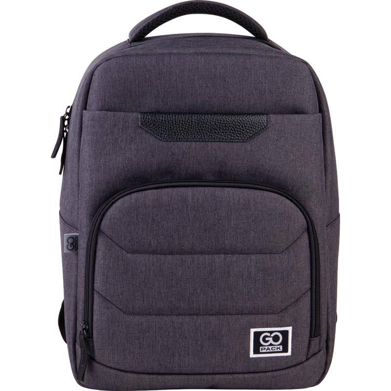 Рюкзак підлітковий GoPack Сity 144-2 сірий go21-144m-2