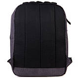 Рюкзак підлітковий GoPack Сity 144-2 сірий go21-144m-2, фото 4