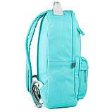Рюкзак підлітковий GoPack Сity 147-2 м'ятний go21-147m-2, фото 5