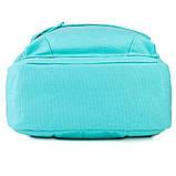Рюкзак підлітковий GoPack Сity 147-2 м'ятний go21-147m-2, фото 6