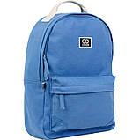 Рюкзак підлітковий GoPack Сity 147-4 синій go21-147m-4, фото 2