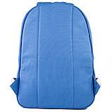 Рюкзак підлітковий GoPack Сity 147-4 синій go21-147m-4, фото 4