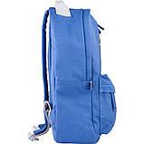 Рюкзак підлітковий GoPack Сity 147-4 синій go21-147m-4, фото 5