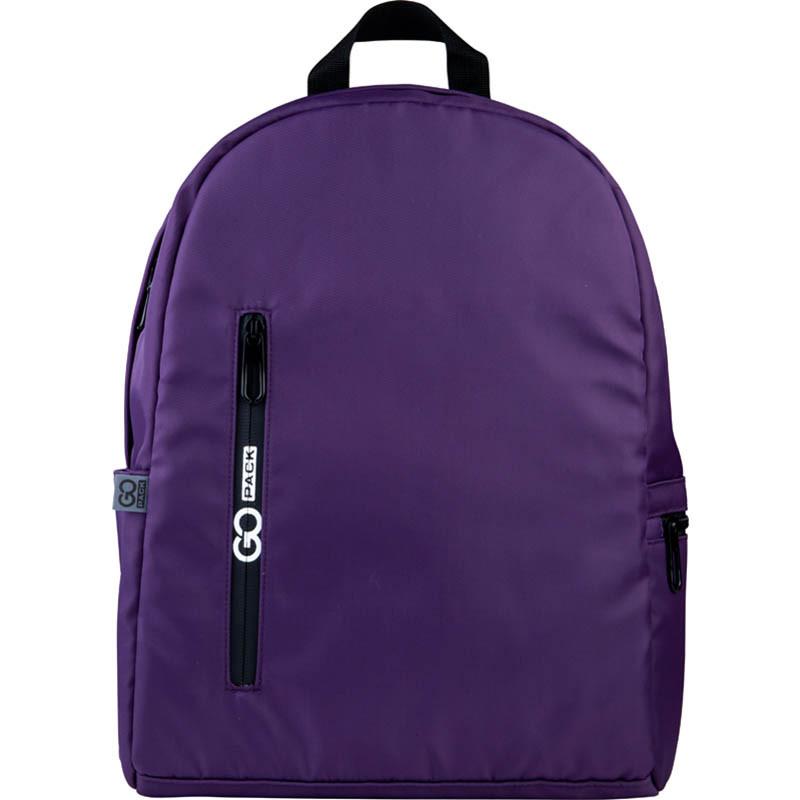 Рюкзак підлітковий GoPack Сity 156-1 фіолетовий go21-156m-1