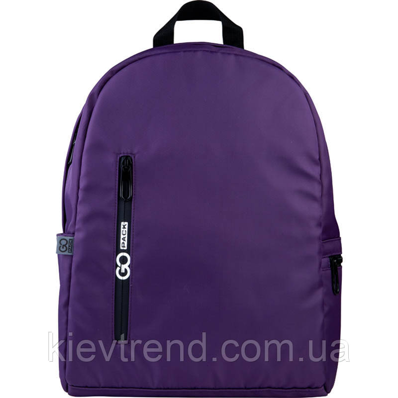 Рюкзак подростковый GoPack Сity 156-1 фиолетовый go21-156m-1