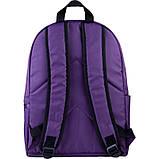 Рюкзак підлітковий GoPack Сity 156-1 фіолетовий go21-156m-1, фото 3