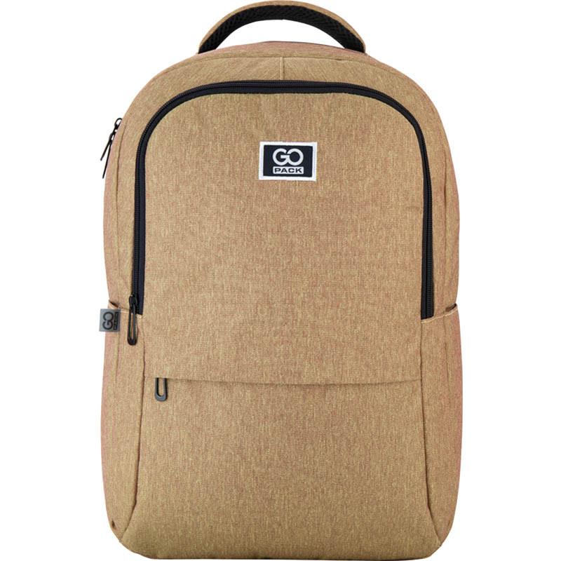 Рюкзак подростковый GoPack Сity 157-1 горчичный go21-157l-1
