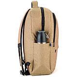 Рюкзак подростковый GoPack Сity 157-1 горчичный go21-157l-1, фото 4