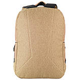 Рюкзак подростковый GoPack Сity 157-1 горчичный go21-157l-1, фото 7