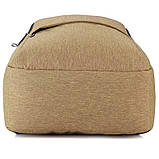 Рюкзак подростковый GoPack Сity 157-1 горчичный go21-157l-1, фото 9