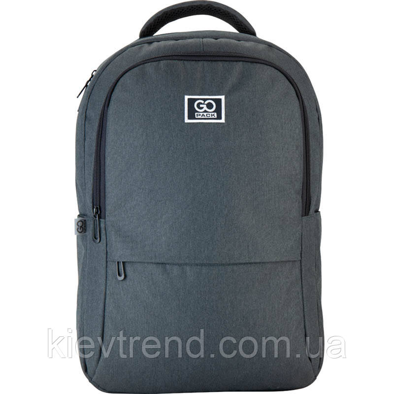 Рюкзак підлітковий GoPack Сity 157-2 сірий go21-157l-2