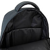 Рюкзак підлітковий GoPack Сity 157-2 сірий go21-157l-2, фото 2