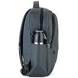 Рюкзак підлітковий GoPack Сity 157-2 сірий go21-157l-2, фото 4